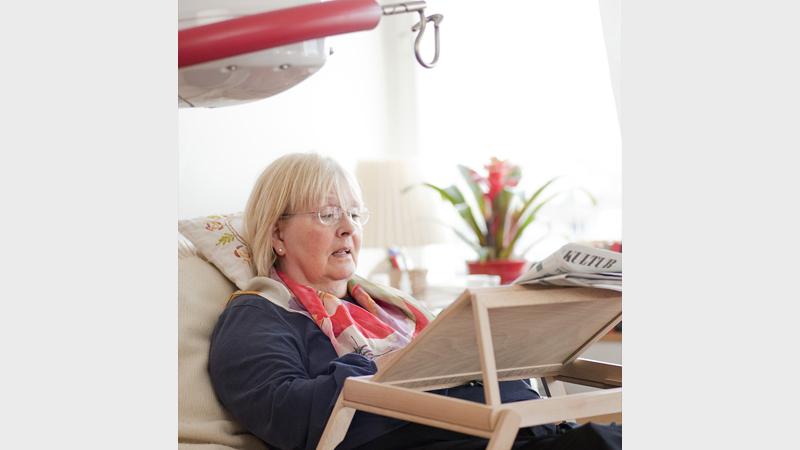 Stropný zdvihák sa využíva aj na jednotkách intenzívnej starostlivosti