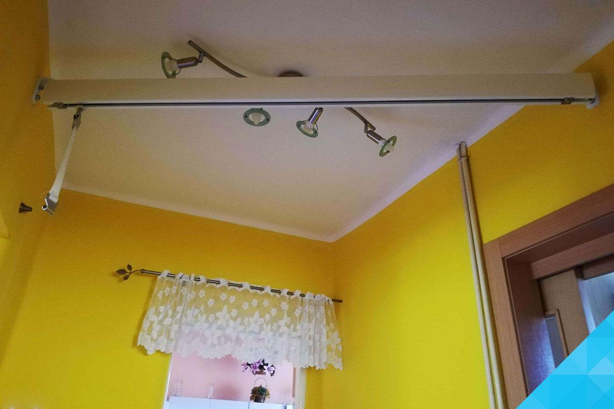 Kolajnice stropného zdviháku